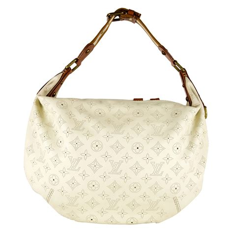 Louis Vuitton Limited Edition 1 louis vuitton limited edition perforated white leather