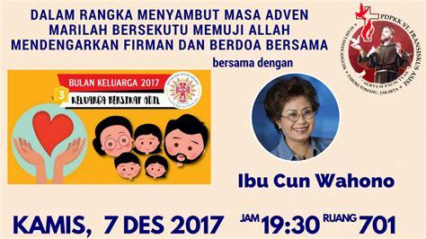 Cermin Di Pejompongan keuskupan agung jakarta official website keuskupan agung