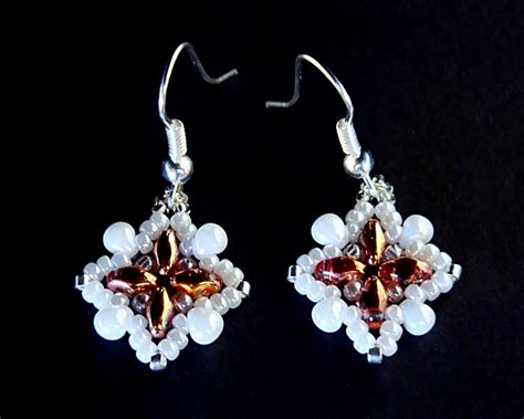 free patterns for beaded earrings beadsmagic