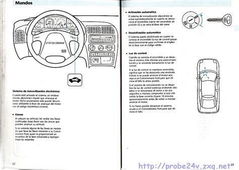 free car repair manuals 1993 ford probe head up display 1994 ford probe repair manual
