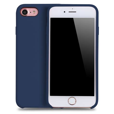 Iphone 8 Volcom Pink Hardcase wholesale iphone 8 7 pro silicone navy blue