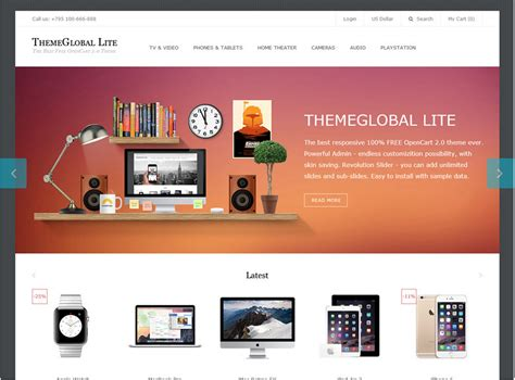 5 best free opencart 2 0 x compatible themes blogs