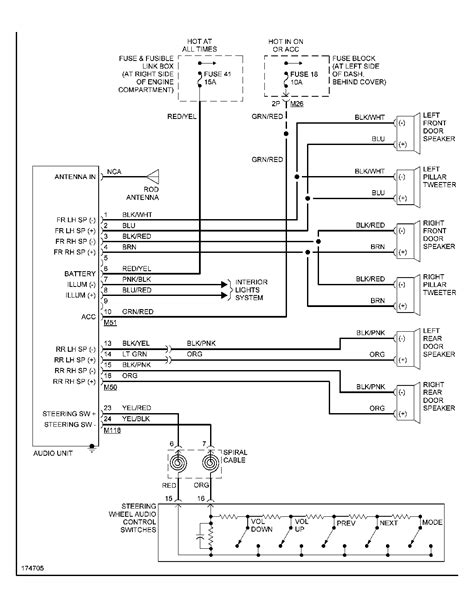 diagrams 578680 nissan frontier radio wiring diagram