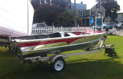 aluminum boats for sale in southern california an aluminum wolverene classic boats woody boater
