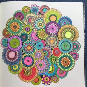 secret garden coloring book on johanna basford colouring in