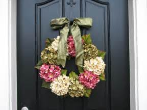 Etsy Home Decor Spring Wreaths Hydrangea Wreath Spring Decorations Online