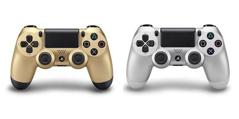 Dualshock 4 Silver gold silver playstation 4 dualshock 4 controllers available november 18th in australia