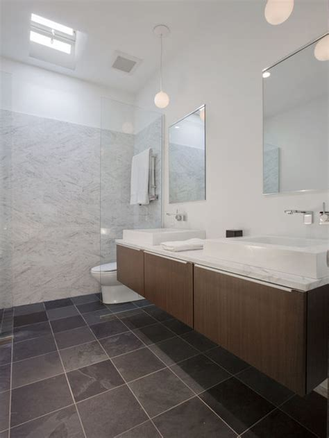 slate grey bathroom grey slate floor houzz