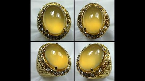 Golden Supreme Pacitan Chalcedony kisah batu cincin king keladen golden supreme