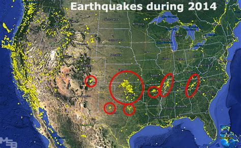 earthquake usa earthquakes during 2014 in usa
