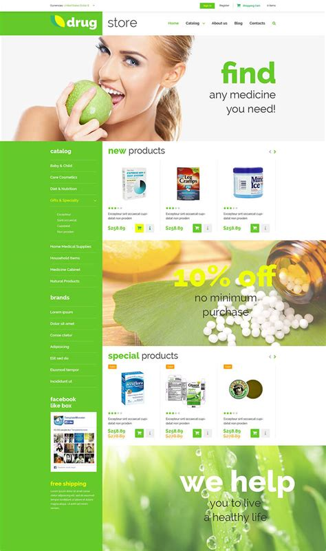12 medical virtuemart templates free premium themes