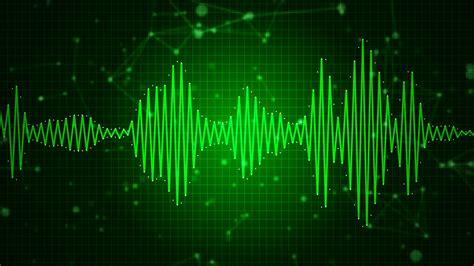 sound wave animated audio sound waveform spectrum sound waves on