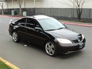 Honda Civic 2004 Coupe 2004 Honda Civic Ex 2dr Coupe Automatic Excel Cond