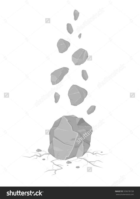 falling rocks clipart   cliparts  images