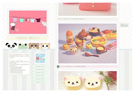 themes tumblr kawaii cute simple layouts tumblr