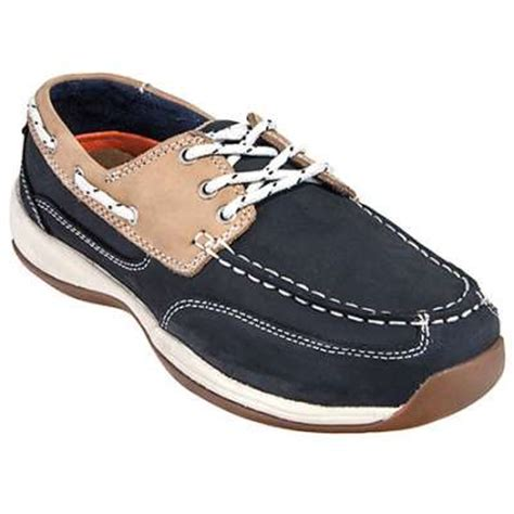 rockport works shoes rk670 steel toe esd boat shoes