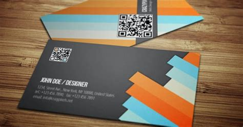 template kartu nama modern template desain kartu nama yang keren abis desain graphix