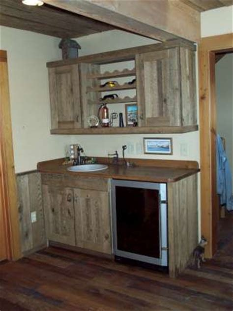 barn board kitchen cabinets barn board armoires and cabinets from recycled antique