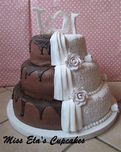 Hochzeitstorte Milch Und Schokolade by Miss Ela S Cupcakes Hochzeitstorten