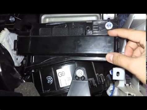 How To Change Filter On 2012 Toyota Corolla Cleaning Air Conditioning Filter Toyota Corolla
