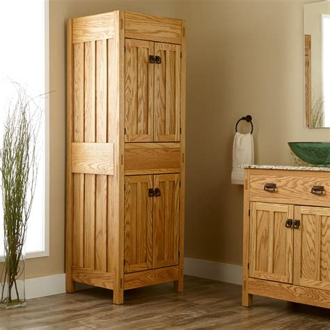mission style bathroom cabinets home bathroom 72 quot mission linen cabinet mission style