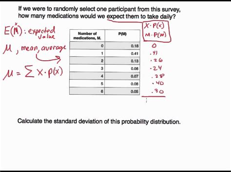 discrete probability distributions finding probabilities