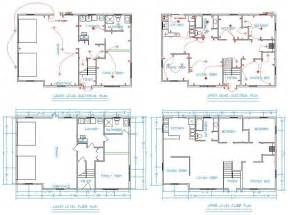 home cad house plan cad file escortsea