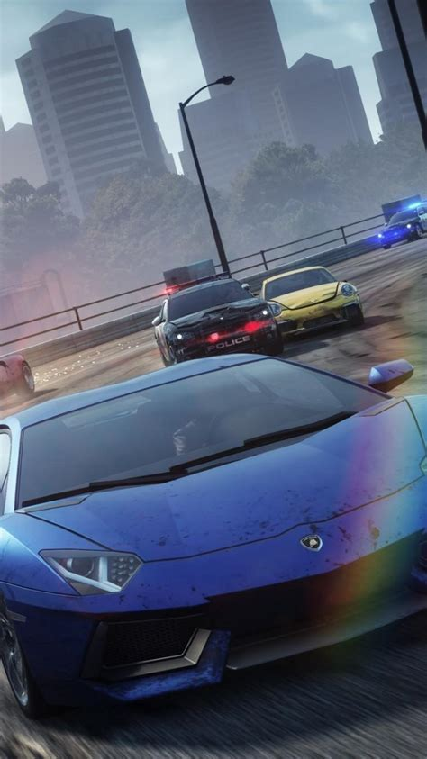 Need For Speed Most Wanted Lamborghini Lamborghini Aventador Need For Speed Most Wanted Wallpaper