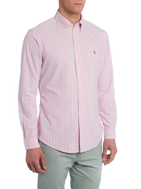 Classic Striped Shirts by Lyst Polo Ralph Classic Sleeve Oxford