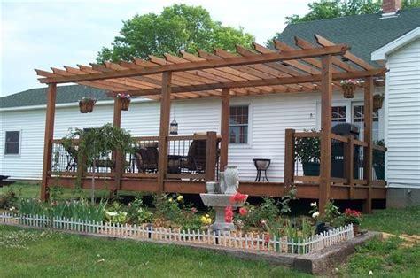 mobile home front porch deck ideas
