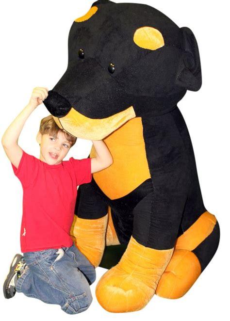 large stuffed rottweiler stuffed rottweiler 5 soft 60 inch big plush plush stuffed