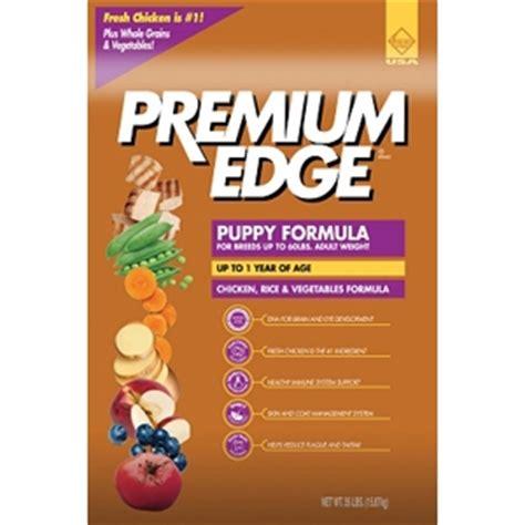 premium edge food premium edge puppy formula food 35 lb vetdepot