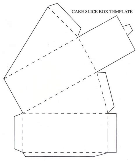 How To Make A Cake Box Template how to make a of cake out of cardboard decorative