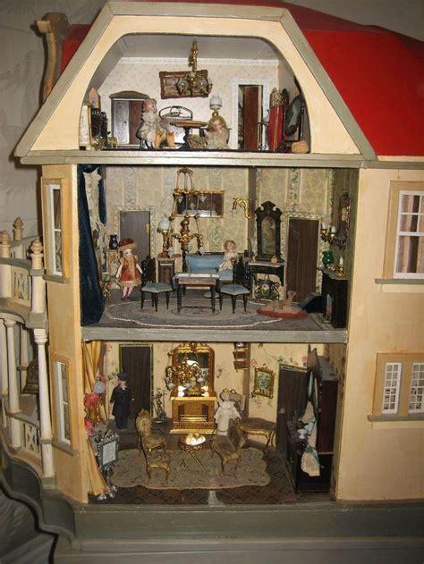 dollhouse i see 363 best antique vintage dolls houses miniatures images