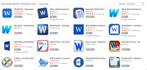 Microsoft Word Application Don T Be Fooled The Mac App Store Is Of Scams