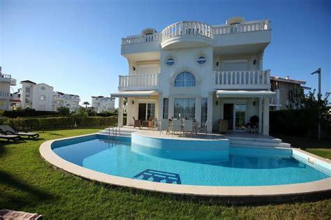 wohnung mit pool mieten noble villa mit privat pool garten zur miete in belek