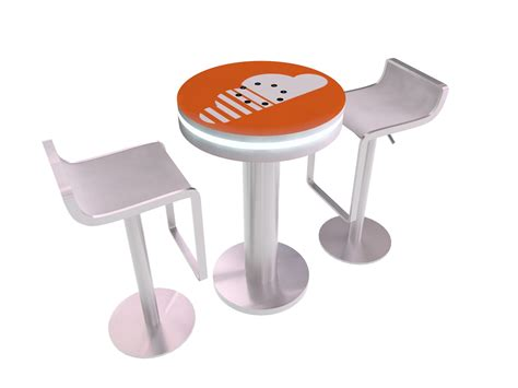 Countertop Charging Station by Exhibits Northwest Trade Show Displays Custom Rental