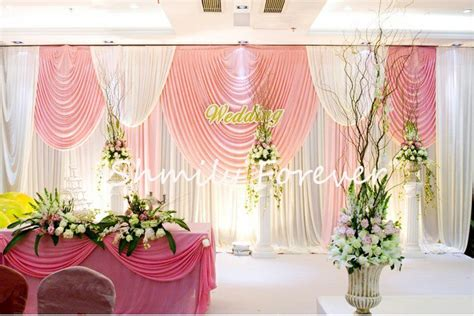 20 Ft Curtains Pretty Wedding Backdrop Curtain 20ft X 10ft In Festive Supplies From Home