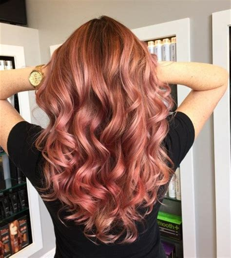 pinstest hair color and styles 12 times rose gold proved it s the best summer hair color