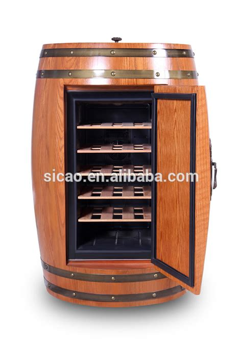 innovative novelty cooler fridge wooden wine bottle