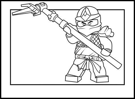 coloriages ninjago imprimer