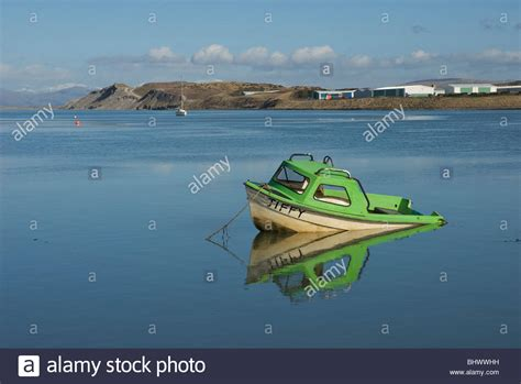small boat sinking small boat sinking in walney channel barrow in furness