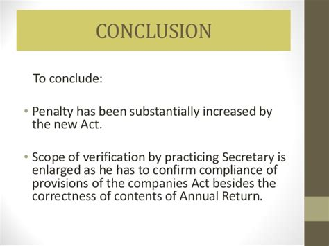 section 76 of the companies act secretarial audit certification of annual return