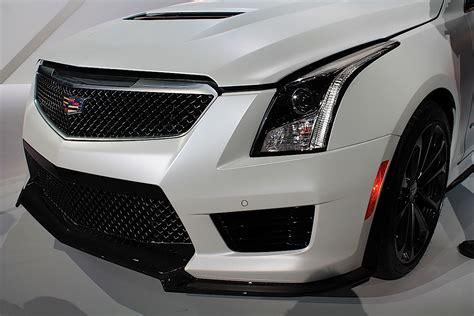 2014 Cadillac Ats Horsepower by La Auto Show Live 2016 Cadillac Ats V Debuts With 455