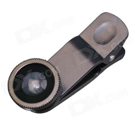 Universal Clip Wide O4x universal clip lens wide angle macro fisheye lens set black free shipping dealextreme