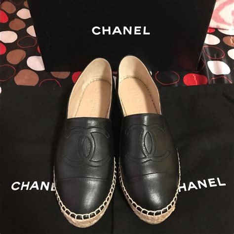 Brand New Chanel Espa Shoes 91 chanel shoes brand new authentic chanel espadrille size 6 from s closet on poshmark