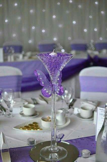 purpura purple wedding theme butterfly wedding decorations