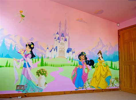 Disney Princess Castle Wall Stickers disney princess bedroom mural