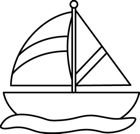 boat cartoon images black and white black and white sailboat in water printables pinterest