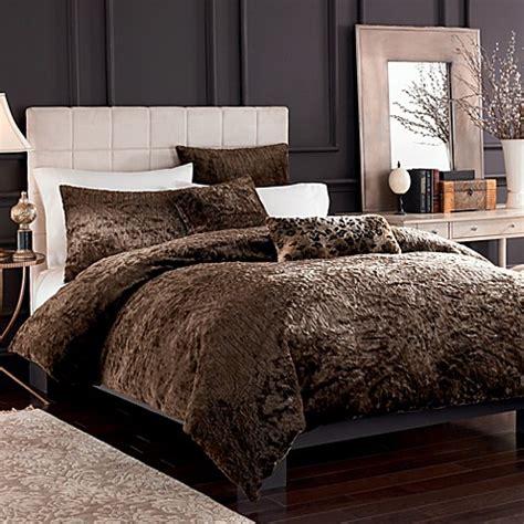 faux fur queen comforter puma brown faux fur full queen duvet cover set bed bath